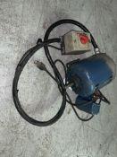 Brook Compton Parkinson Electric Motor 2spd, 1725RPM