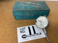"Teclock 0""-1"" Precision Dial Indicator"