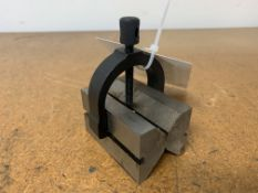 """2"""" Machinist V-Block with Clamp"""