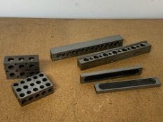 2 Sets of Machinist Parallels and 2 Machinist 1-2-3 Blocks