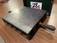 """Hand-Scraped Pressure Relieved Steel Surface Plate 8.25"""" x 9"""""""