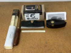Vertas Edger Plane, Variable Burnisher, and Tri-Burnisher for Woodworking
