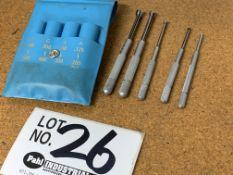 "PEC Small Hole Gauge Set .125""-.5"""