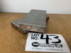 Set of Frank McMahon Magnetic Machinist V-Blocks