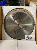 "(3) 10"" Precision Ground Carbide Tipped Circular Saw Blades"