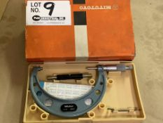 """Mitutoyo 4""""-5"""" OD Micrometer Set with Standard"""