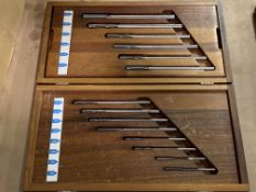 DoAll Precision Dowel Reamer Set Complete with Box