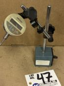 Mitutoyo Magnetic Base with Mitutoyo Digital Indicator