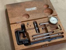 Starrett Universal Back Plunger Dial Indicator Set Complete