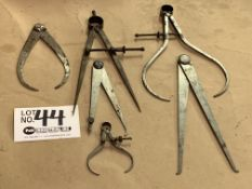 6 Assorted Inside/Outside Micrometers