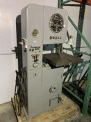 DoAll ML Variable Speed Vertical Bandsaw with Blade Welder