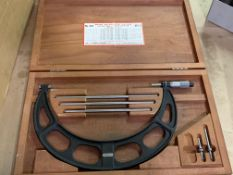 """Starrett 9""""-12"""" Micrometer Set Complete with Standards"""
