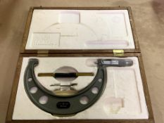 """Mitutoyo 6""""-7"""" OD Micrometer Set with Standard"""