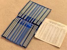 "TC Thread Measuring Wires Set .024"" - .185"""
