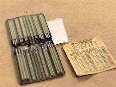 "Pee Dee Thread Measure Wires Set .018"" - .185"