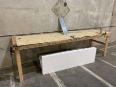 "148"" X 140"" Foam Cutting Table"