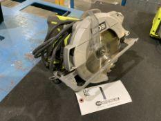 "Ryobi 7"" Circular Saw - model CSB144LZ"