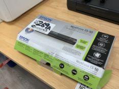 Epson Workforce ES-50 Portable Color Doc Scanner