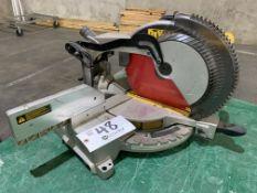 """DeWalt 12"""" Compound Miter Saw, Adjustable Rotating Base model DW175"""