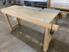 6' X 2' Router Table w/DeWalt Router 120v