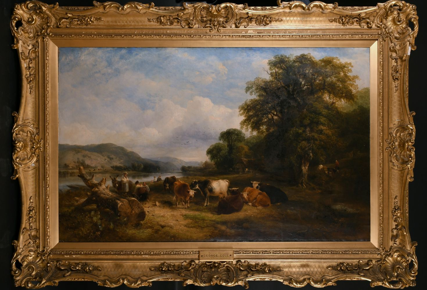 Fine Paintings and Frames Sale