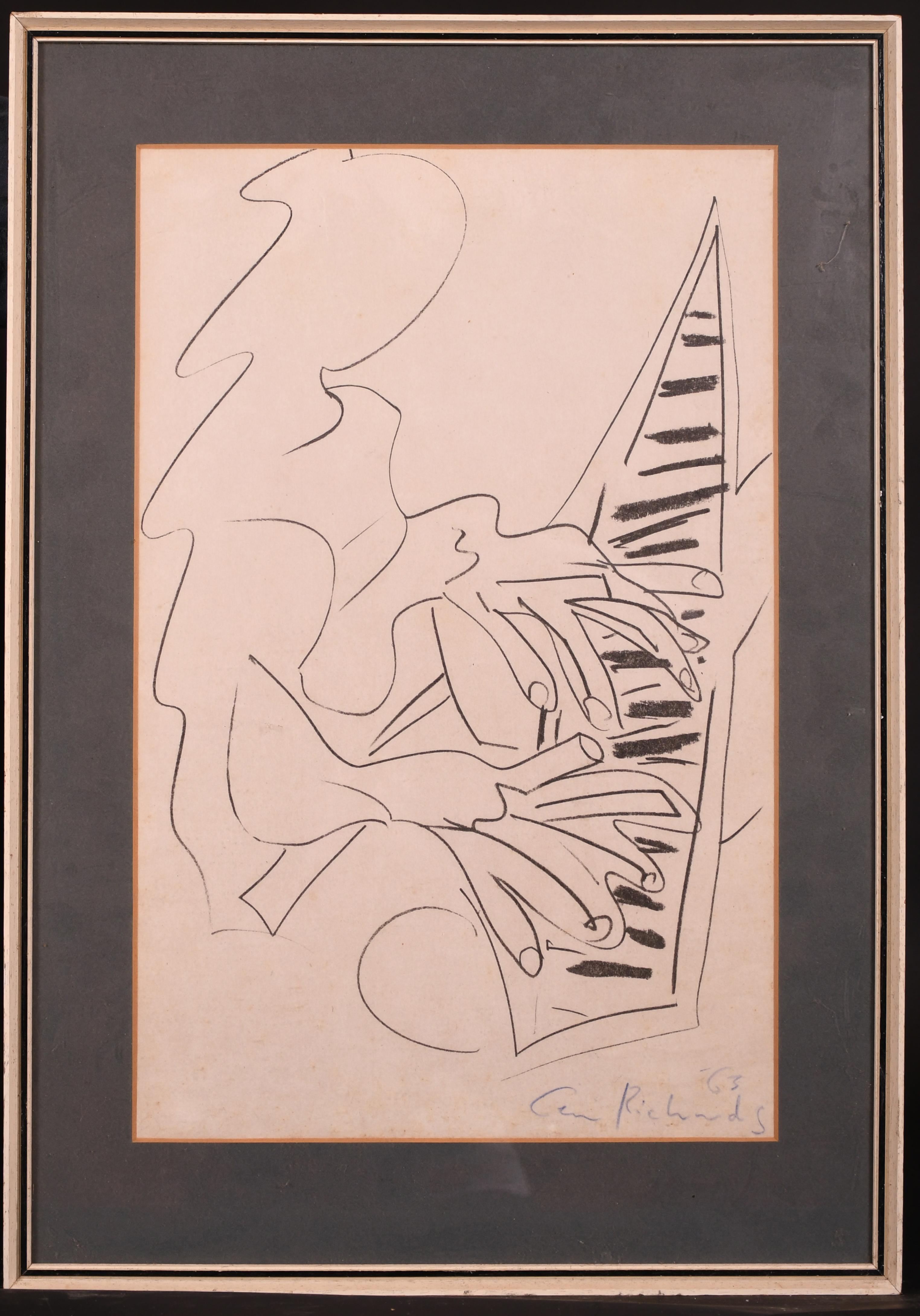 "Ceri Richards (1903-1971) British. ""The Pianist"", Lithograph, 19"" x 12.25"" (48.3 x 31cm) - Image 2 of 4"