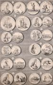 "John and Paul Knapton (act. 1735-1789) British. ""Medals of K. William III and Q. Mary"", Engraved"