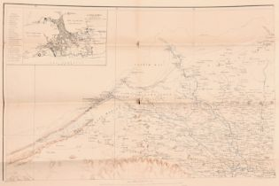 """20th Century English School. A Map of Alexandria, Map, Numbered Co.1, Unframed 20"""" x 31.5"""" (50.8 x"""