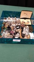 Large Selection Of Costume Jewellery To Include Stratton Cuff Links And Tie Pin Set