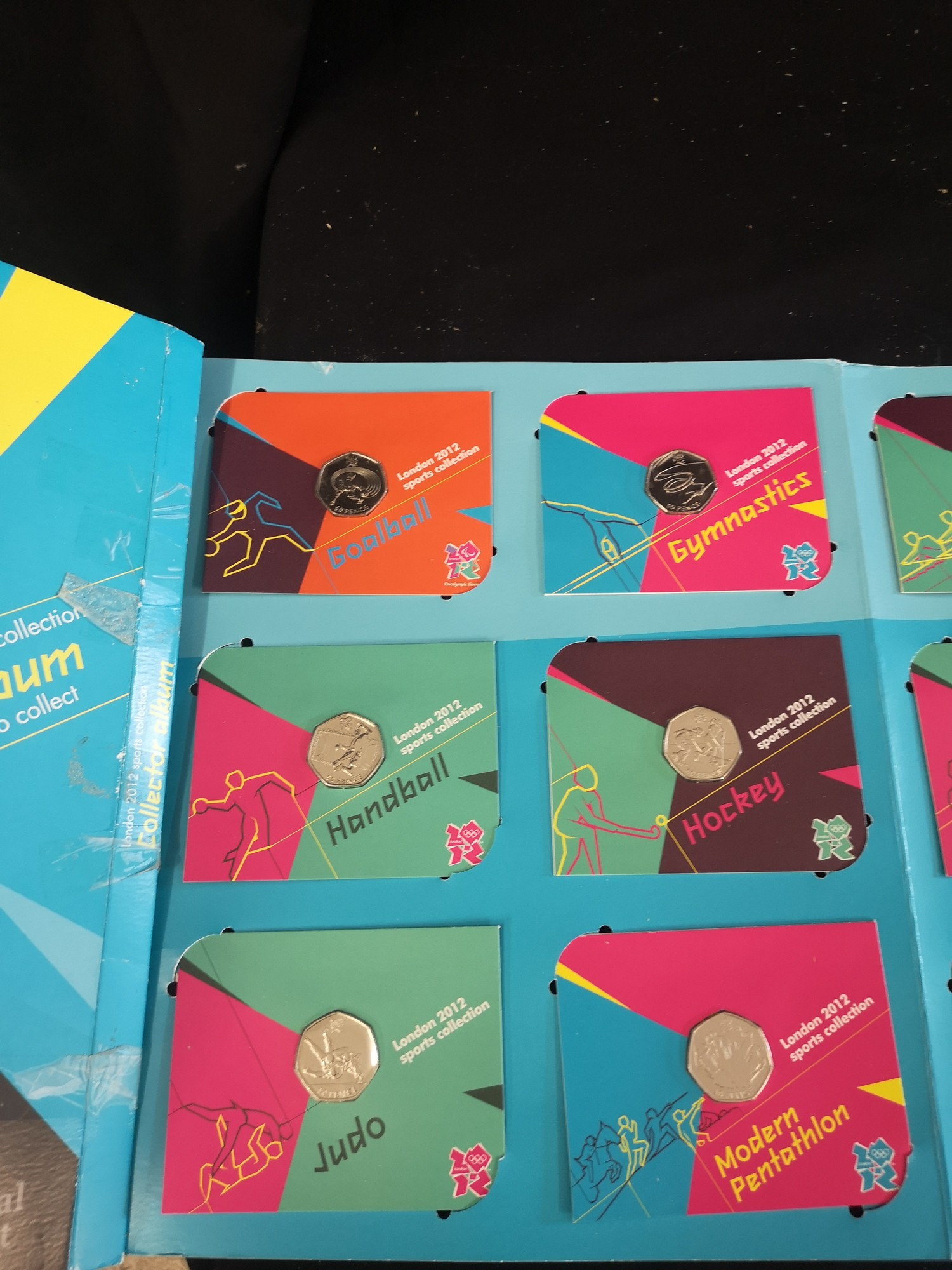 London Olympics 2012 sports collection album complete. - Image 4 of 6