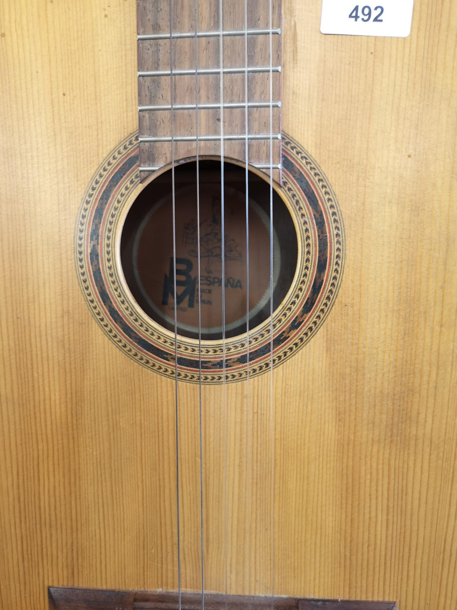 Bespania acoustic guitar. - Image 2 of 2