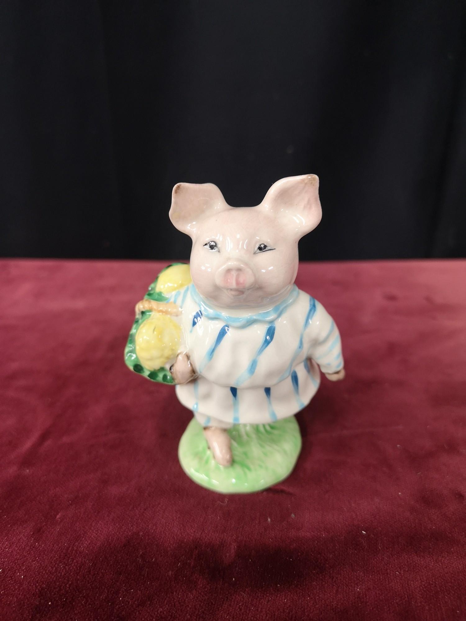 Beswick figure little pig Robinson.