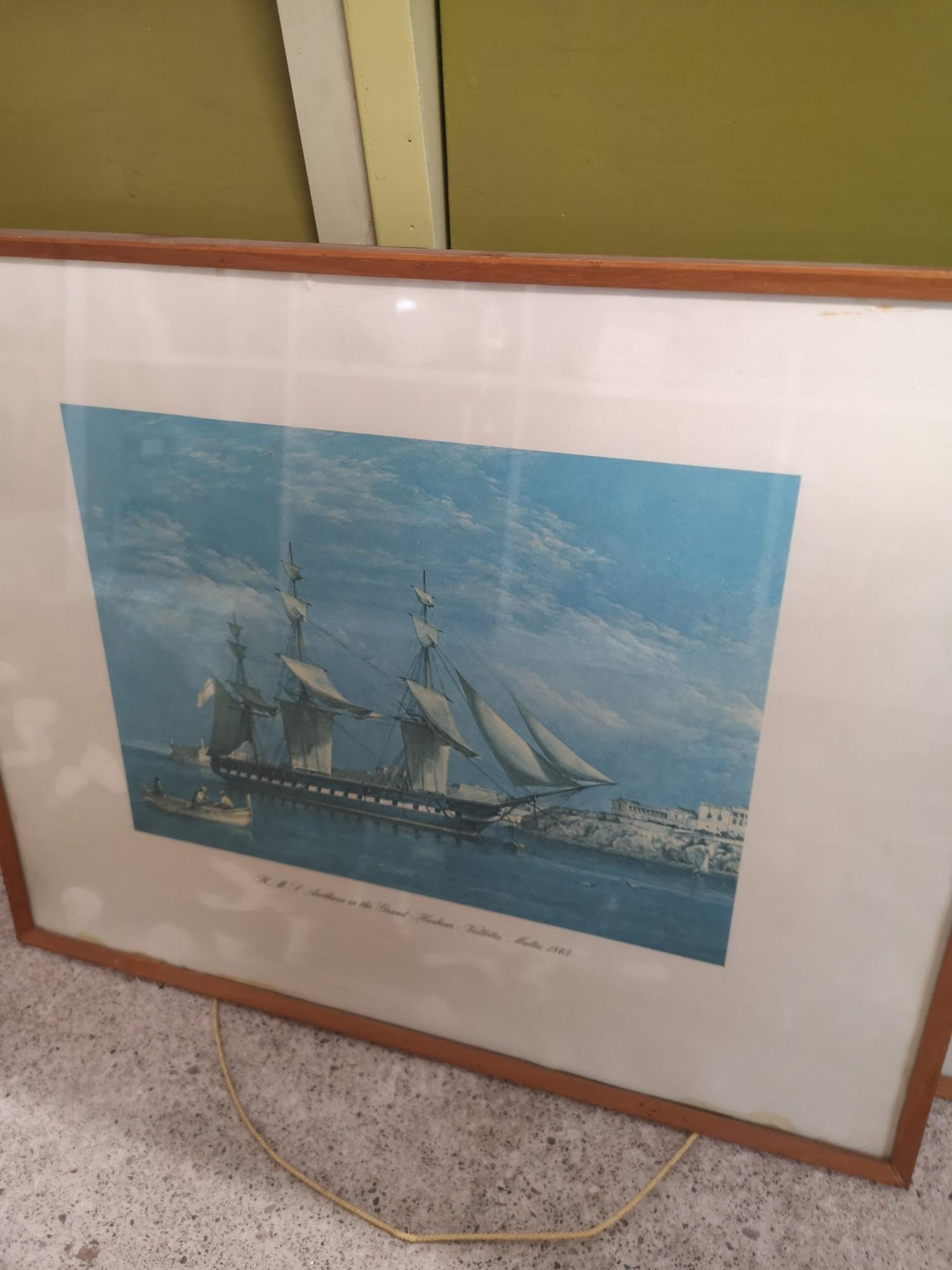 2 boat scene prints. - Image 3 of 3