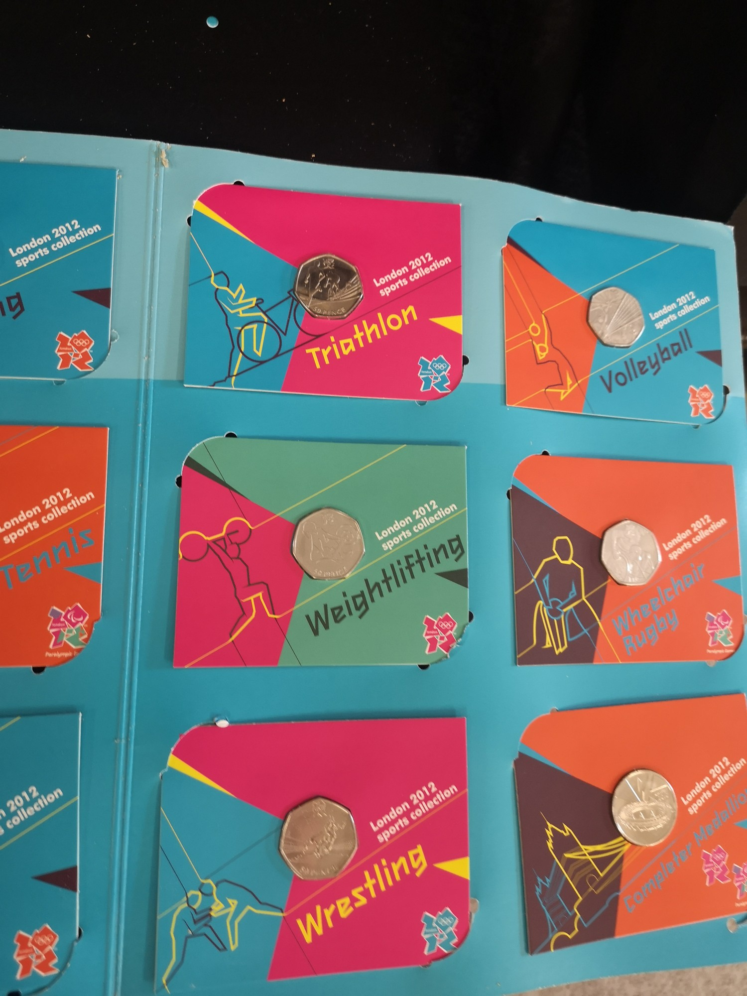 London Olympics 2012 sports collection album complete. - Image 2 of 6
