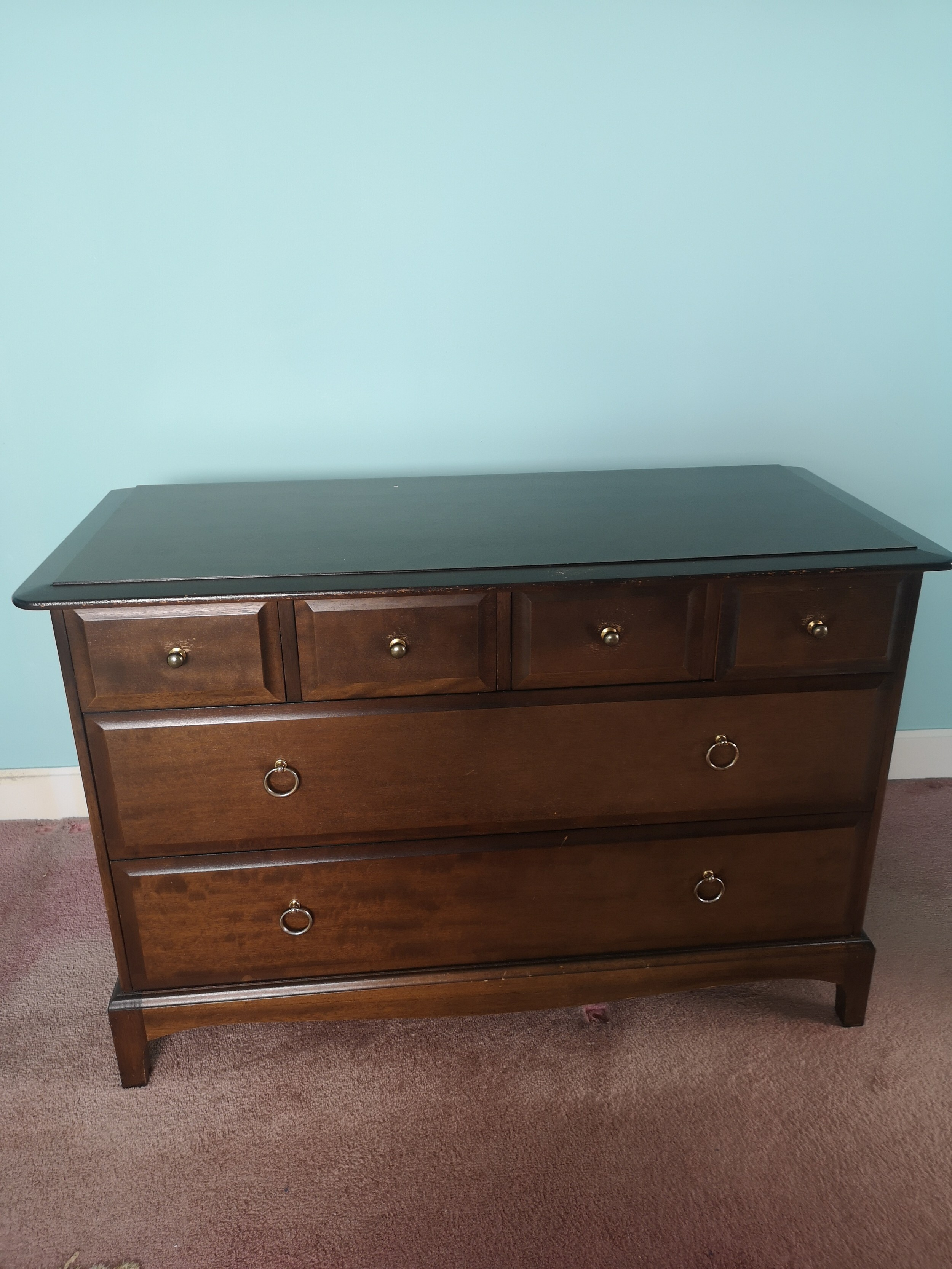 Stag minstrel chest of drawers. Late entry's images will be added tomorrow.