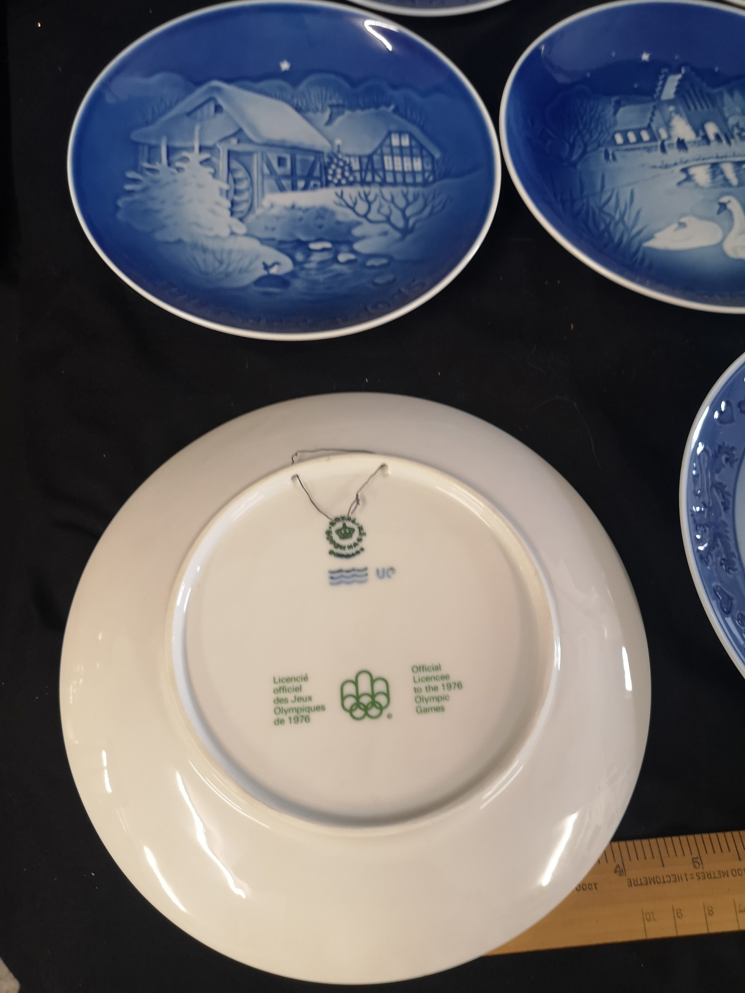 Collection of Royal Copenhagen Christmas plates. 1969 70s. - Image 2 of 2