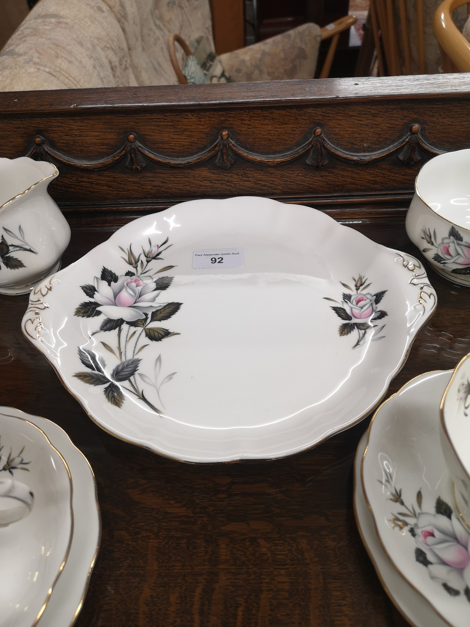 Royal Albert Queens messenger tea service. - Image 4 of 5