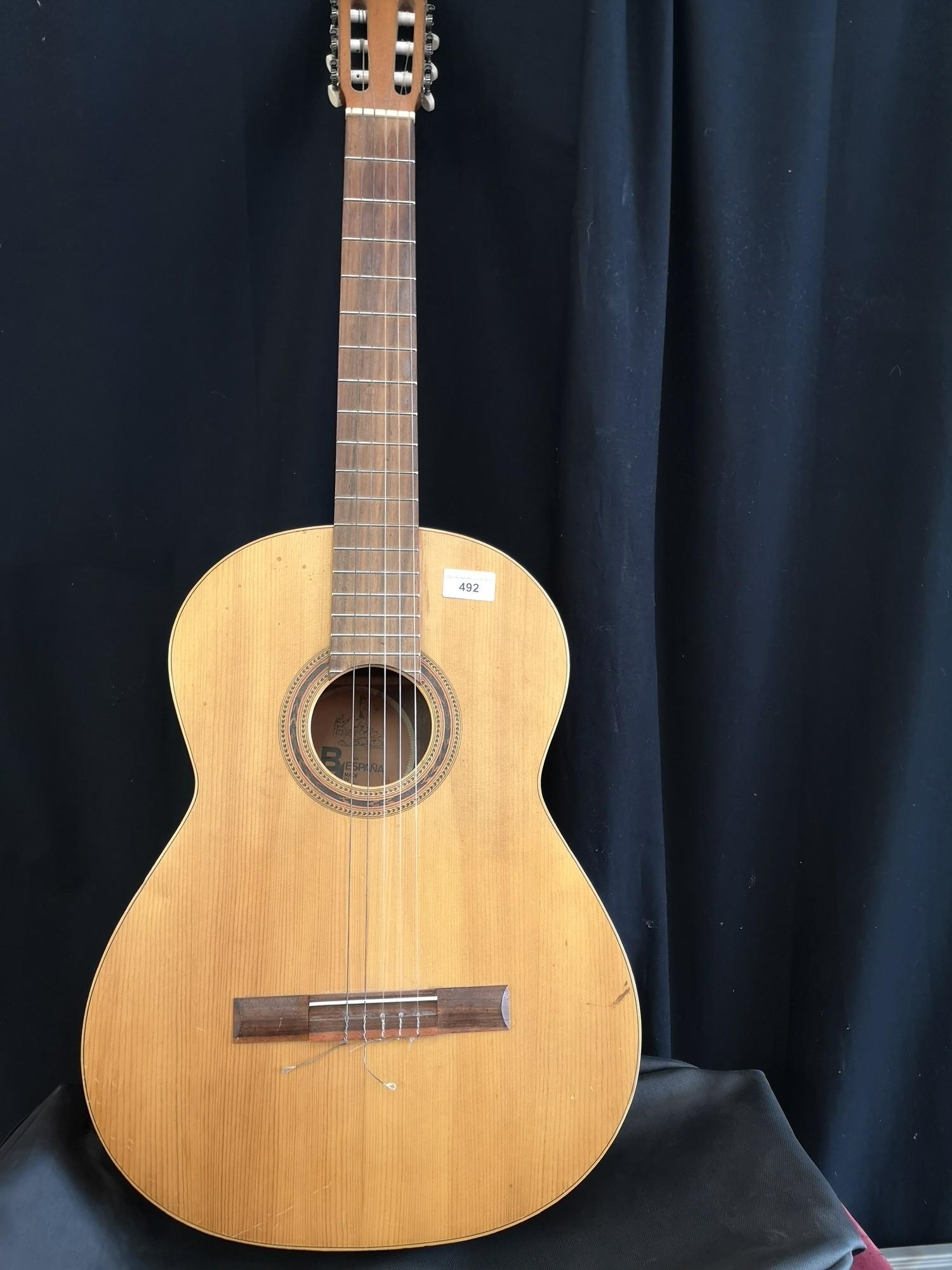 Bespania acoustic guitar.