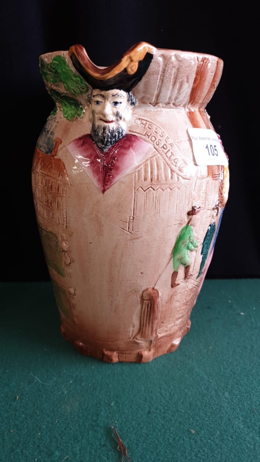 Burleigh Ware Large Nell Gwyn Water Jug. - Image 3 of 4