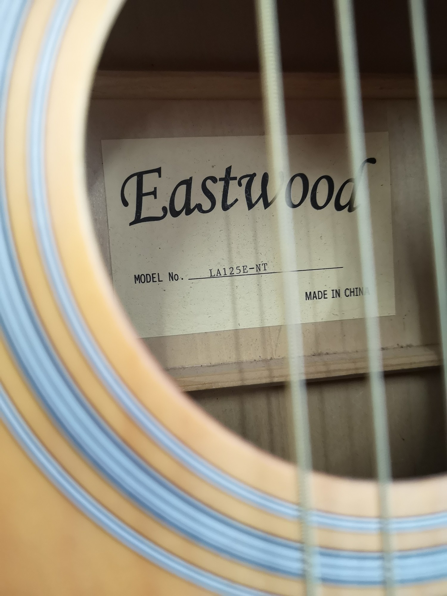 Eastwood acoustic guitar. - Image 3 of 3