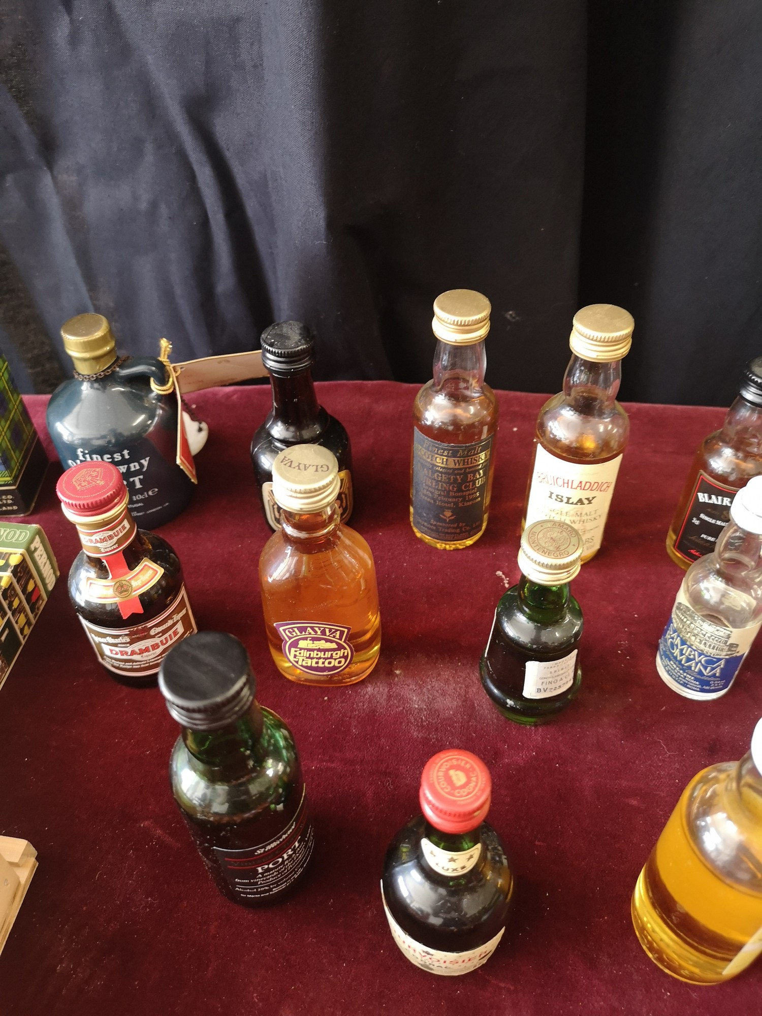 Lot of whisky miniature s includes clayva, Bruichladdich islay whisky miniature s together with , - Image 3 of 7