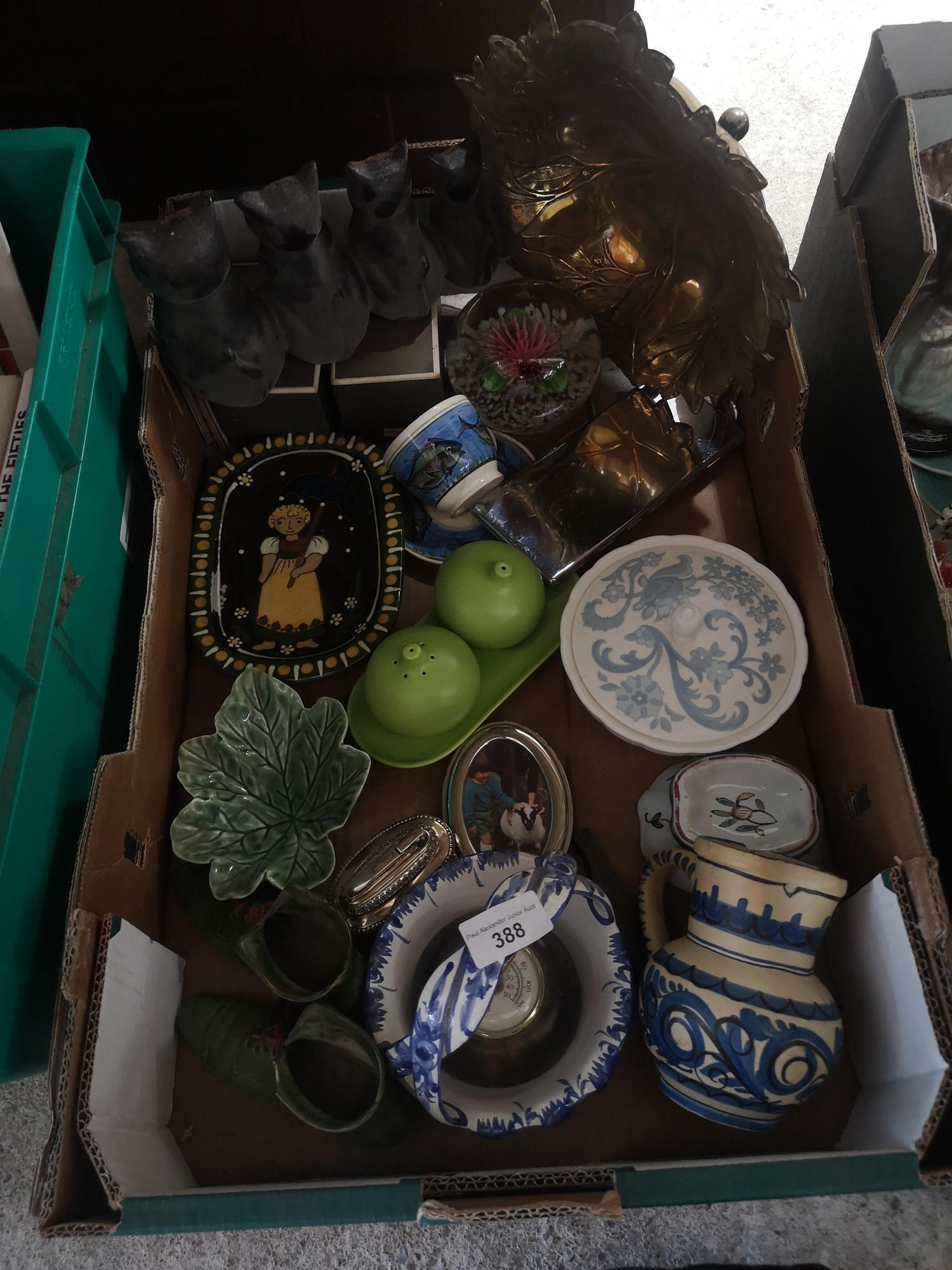Box of collectables. - Image 2 of 2