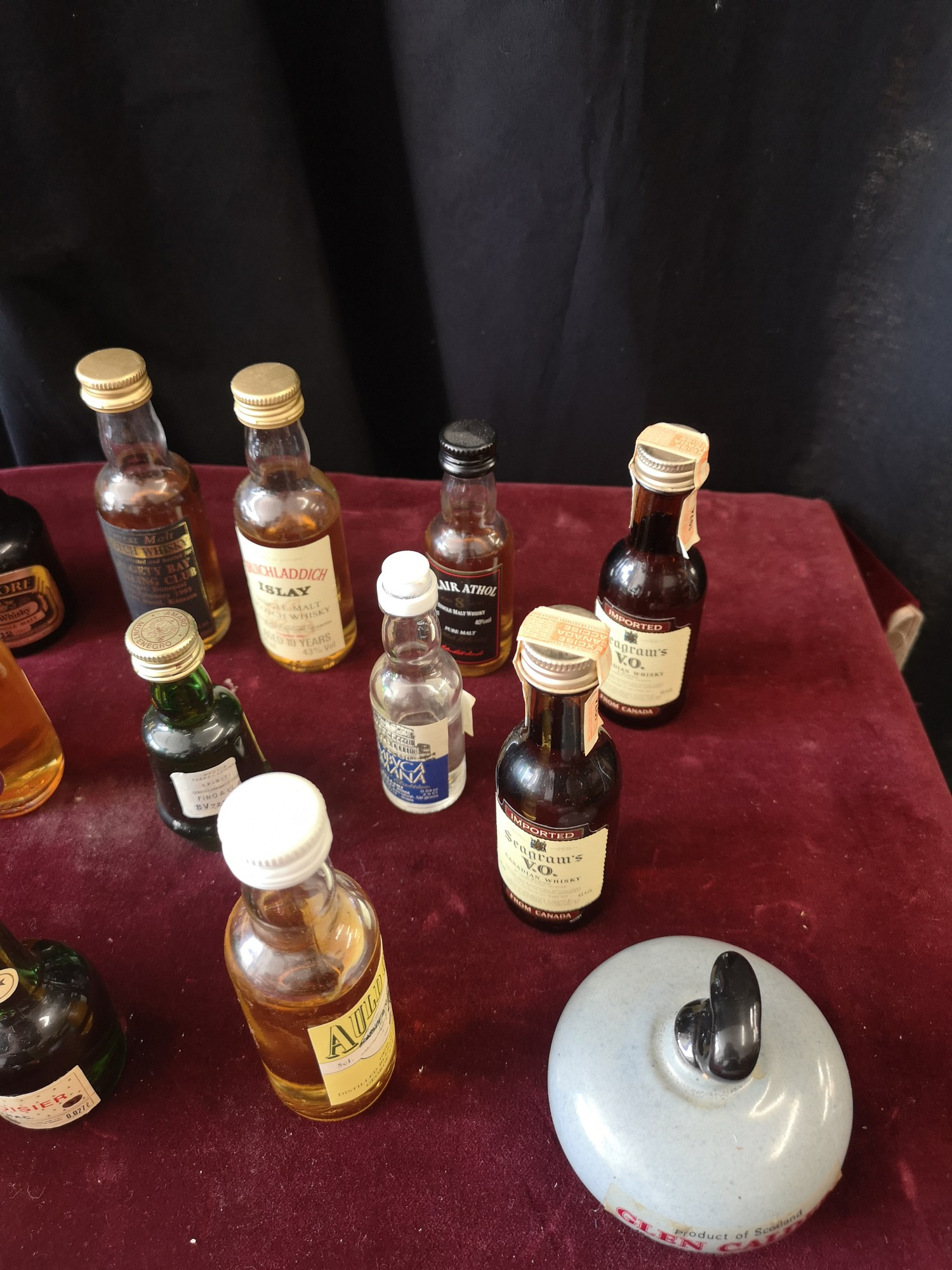 Lot of whisky miniature s includes clayva, Bruichladdich islay whisky miniature s together with , - Image 4 of 7