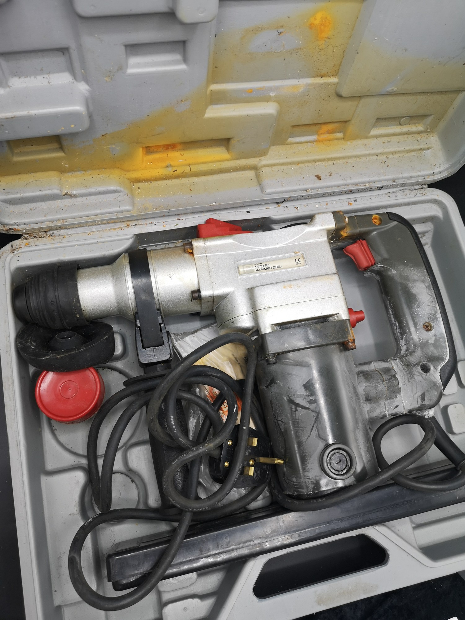 Pro rotary hammer drill in fitted case. - Image 2 of 2