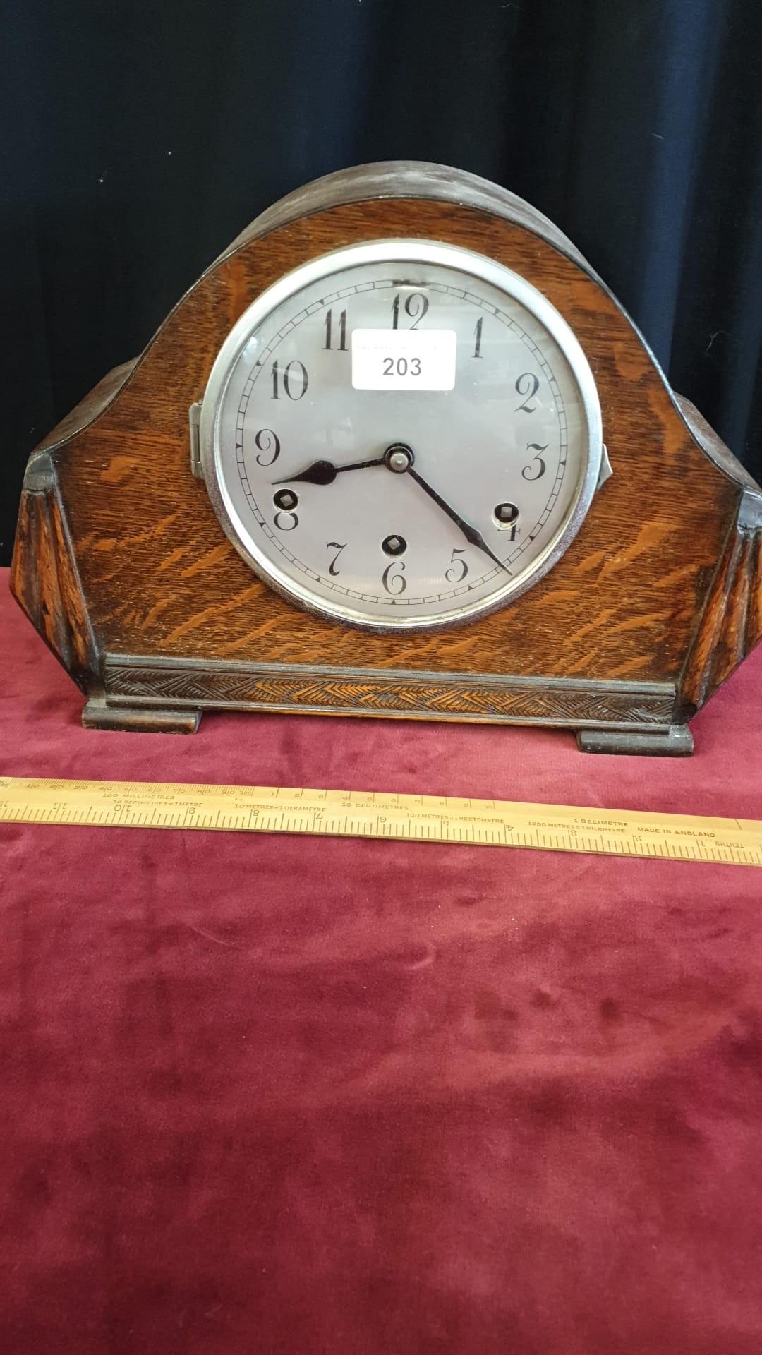 Art deco mantle clock.