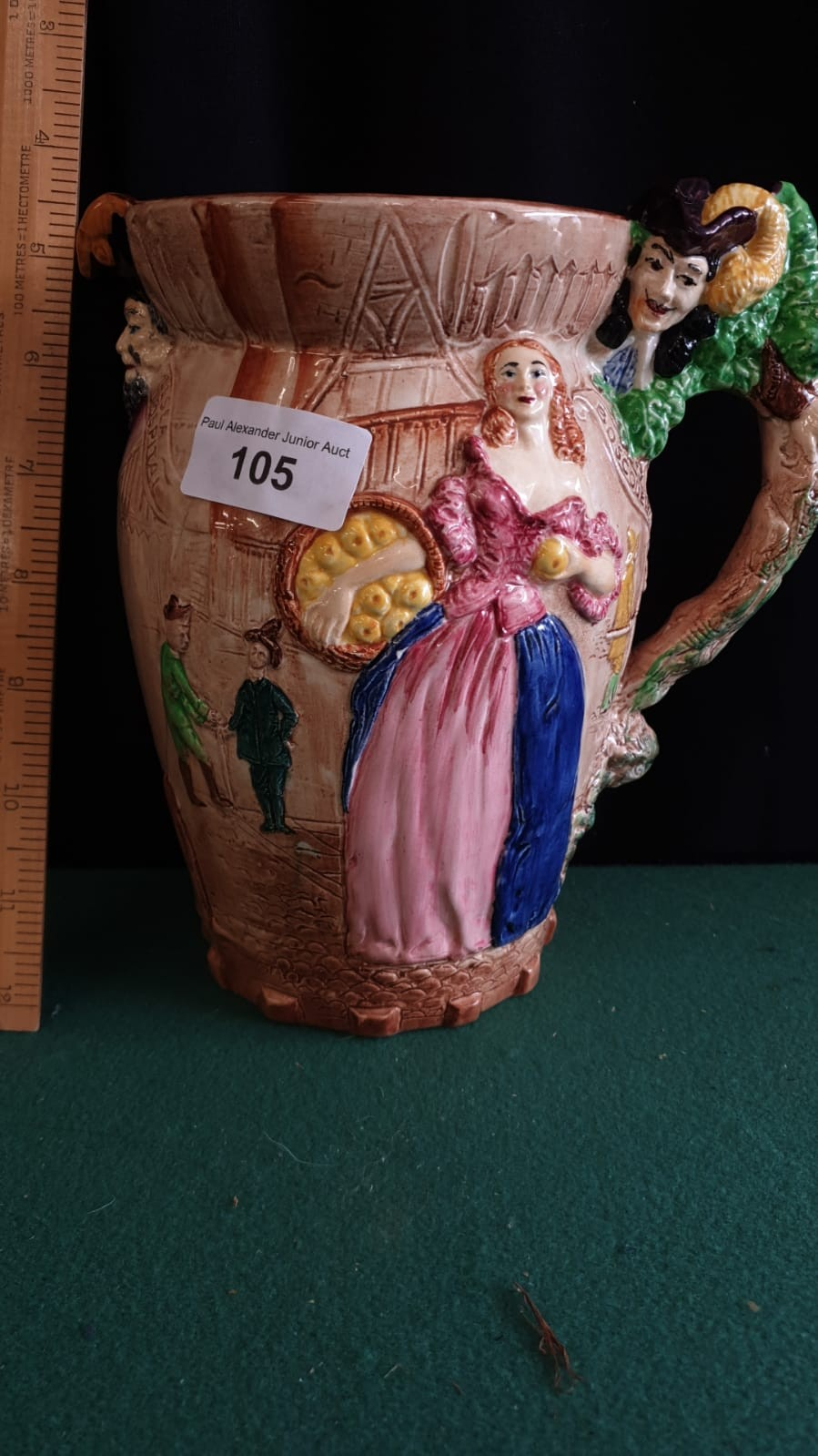 Burleigh Ware Large Nell Gwyn Water Jug. - Image 2 of 4
