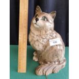 Large Beswick Fireside Model Of Seated Cat No 1867