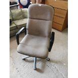 Office arm chair.