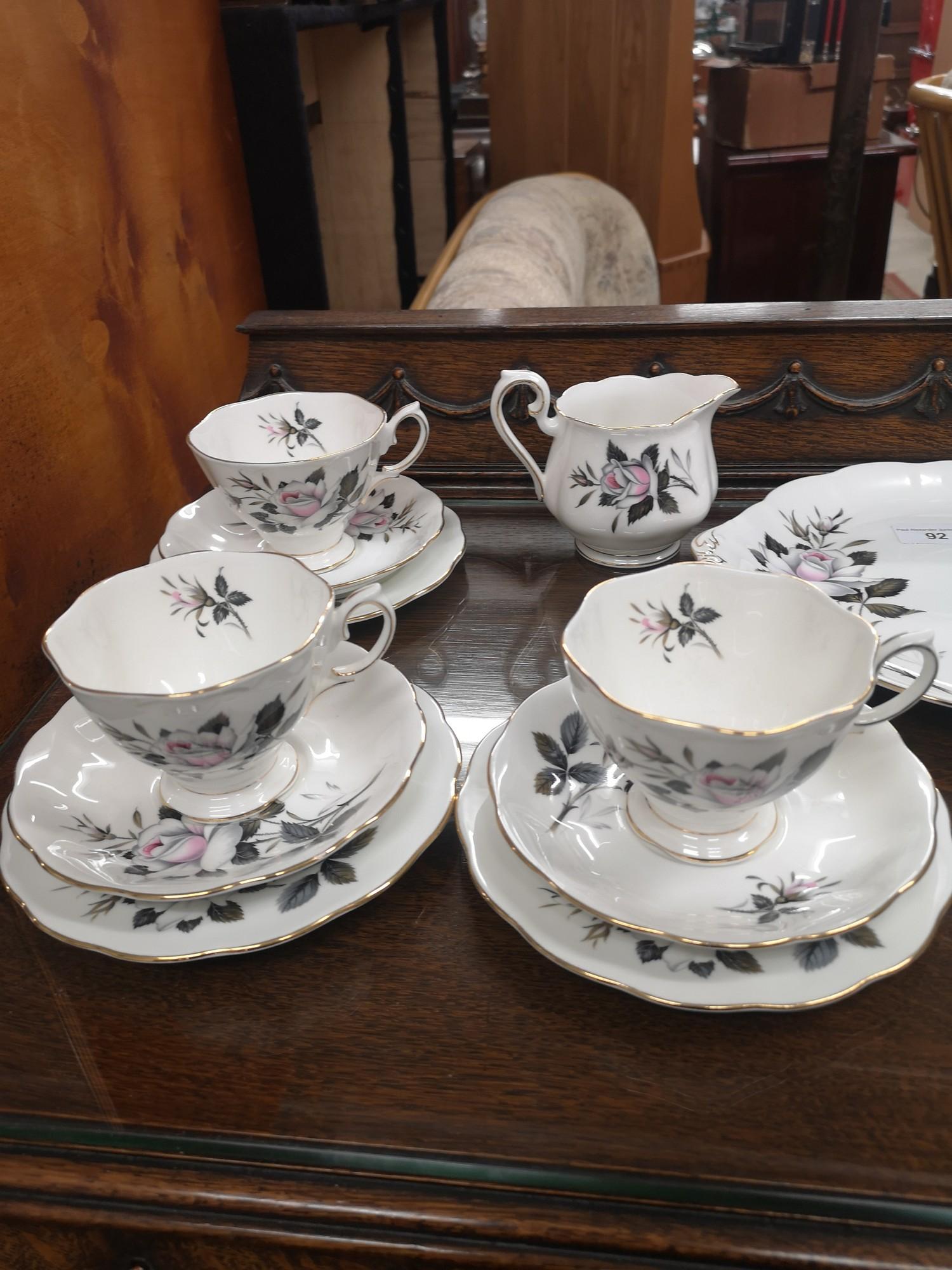 Royal Albert Queens messenger tea service. - Image 5 of 5
