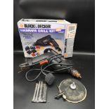 Boxed black n decker hammer drill.